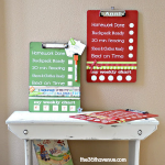 Back to SCHOOL: Dry Erase Clip Board.