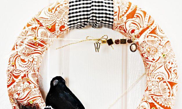 Fabric Wreath TUTORIAL