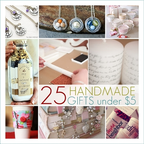 25 handmade gifts Cute homemade christmas gifts