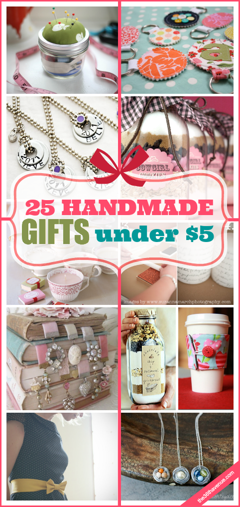c2a46f44f889 Handmade Gifts under  5! These 25 handmade gifts are perfect for Christmas  gifts