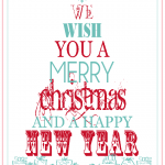 36th Christmas Printable