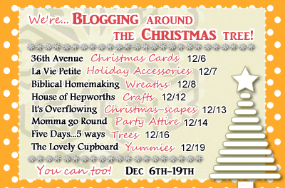 8 Blogs= 1 BIG Christmas Link Party!