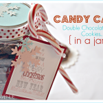 Candy Cane Mint Cookies