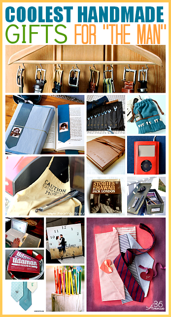 Handmade Gift Tutorials For Men The 36th Avenue