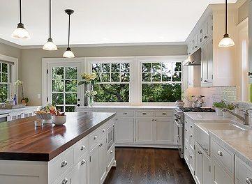 My White Kitchen INSPIRATION!