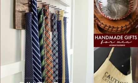 Handmade Gift Tutorials for Men
