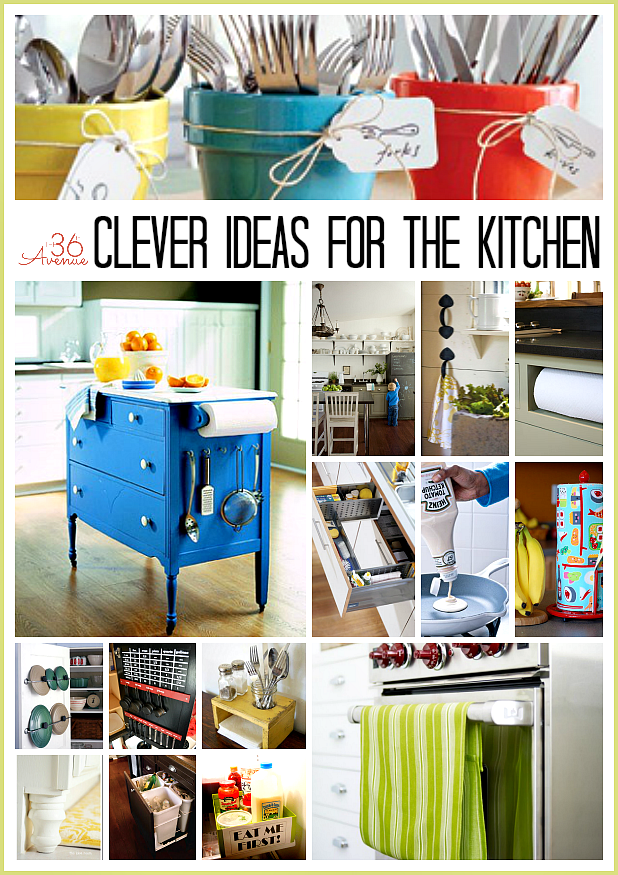 Kitchen Organization and Cleaning Tips at  the36thavenue.com