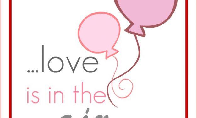 Share the love + Free Printable.