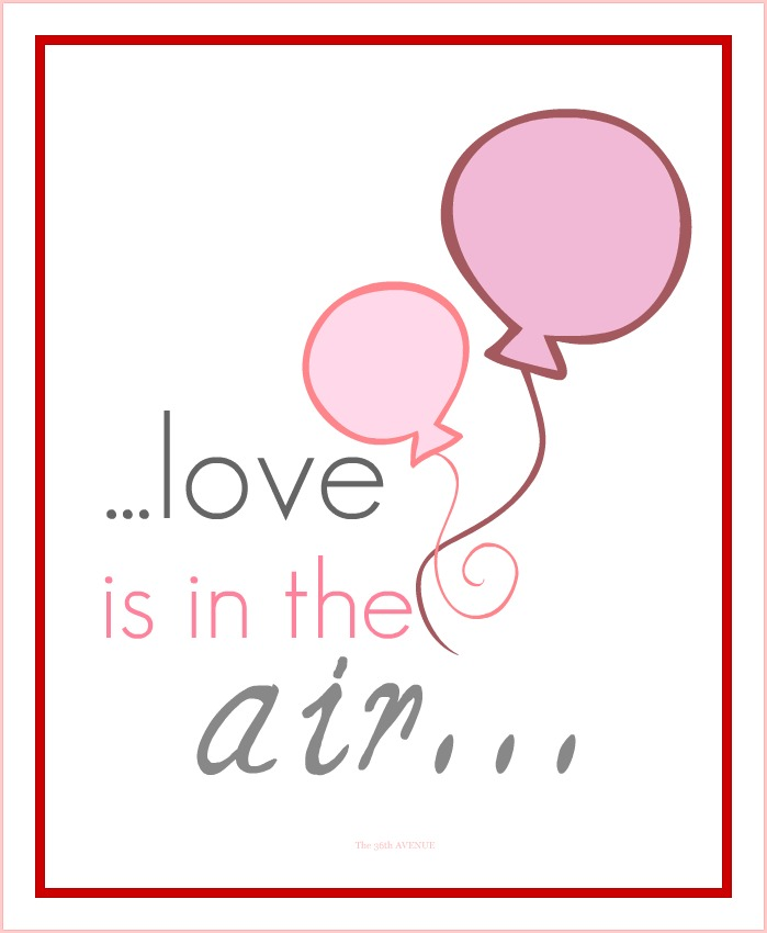 Share the love + Free Printable.