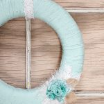 Yarn Spring Wreath Tutorial