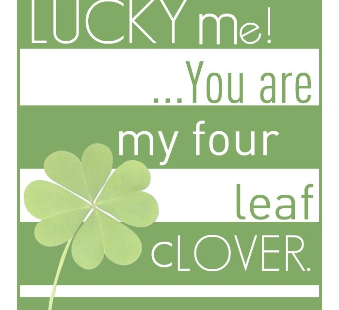 St Patrick's Day Free Printable!