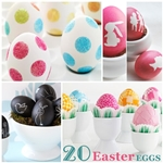 20 Easter Egg Tutorials. the36thavenue.com