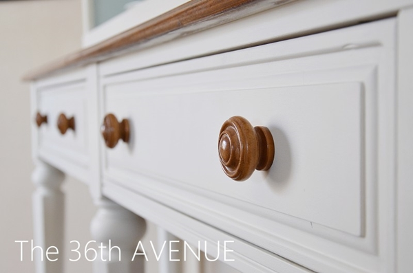 Hutch makeover and paint name. the36thavenue.com