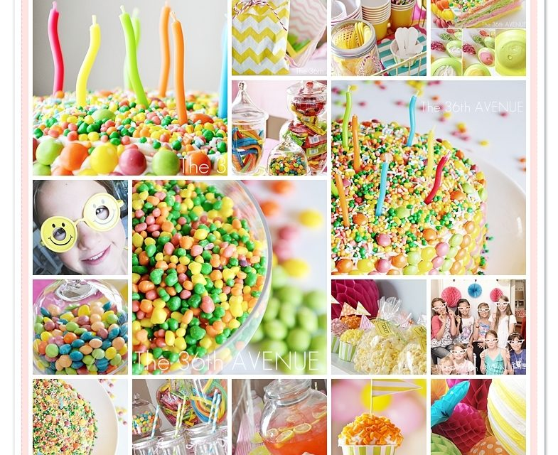 Anni's Candy Birthday Party