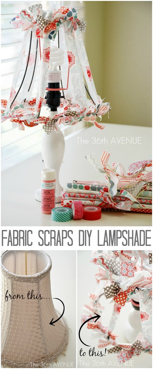 DIY Home Projects - Lampshade Tutorial at the36thavenue.com