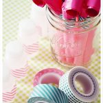 Washi Tape Party Favors