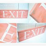DIY Distressed Stenciled Sign Tutorial