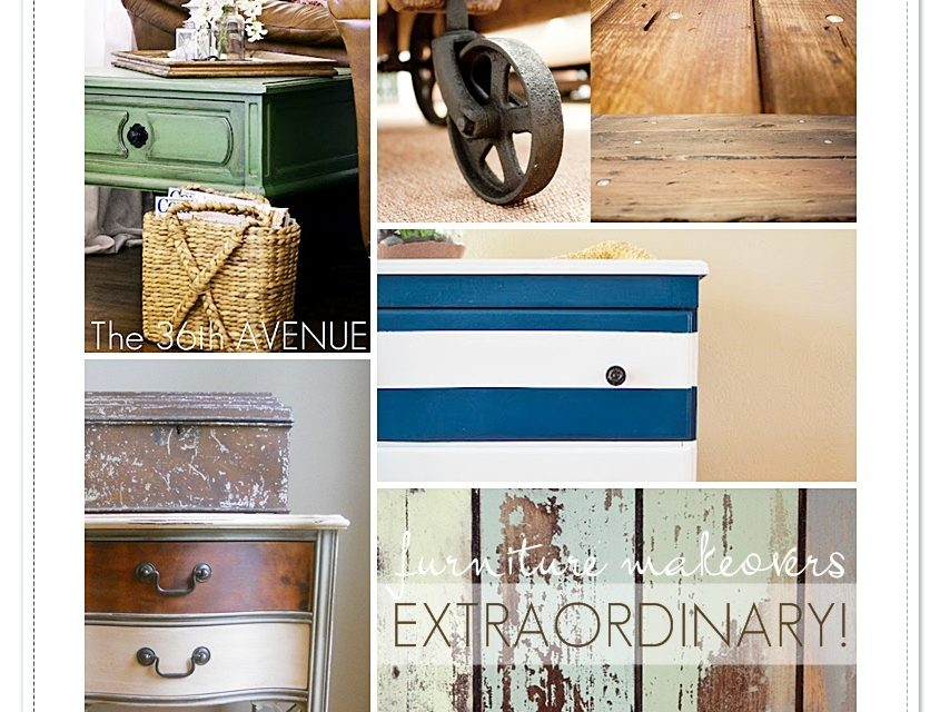 STICKER Time: Extraordinary Furniture Makeovers