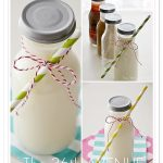 DIY Small Milk Bottles