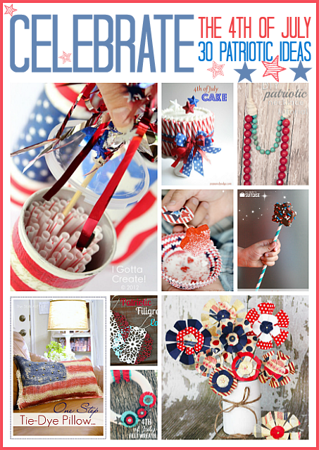 Awesome Red, White and Blue ideas for the 4th of July.... Celebrate! the36thavenue.com