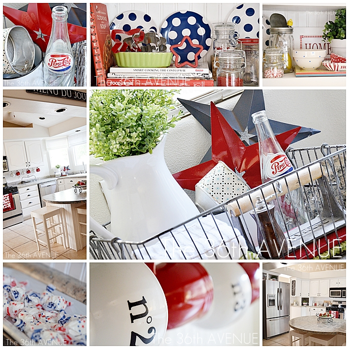4th of July Kitchen Decor