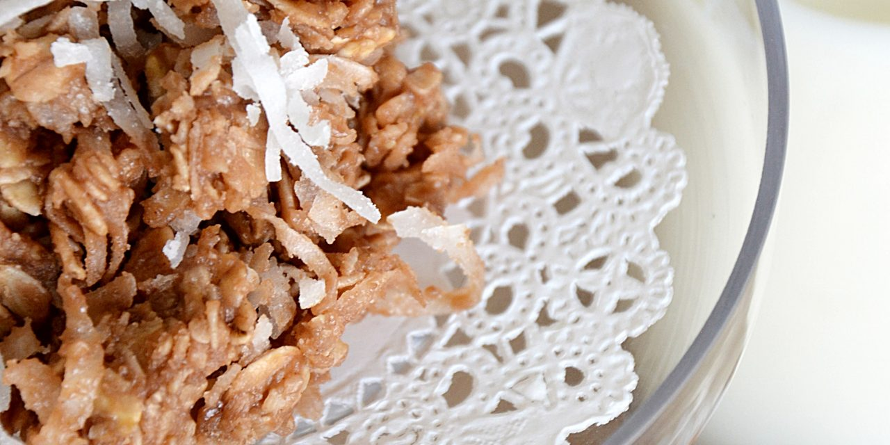 No-Bake Coconut Cookies