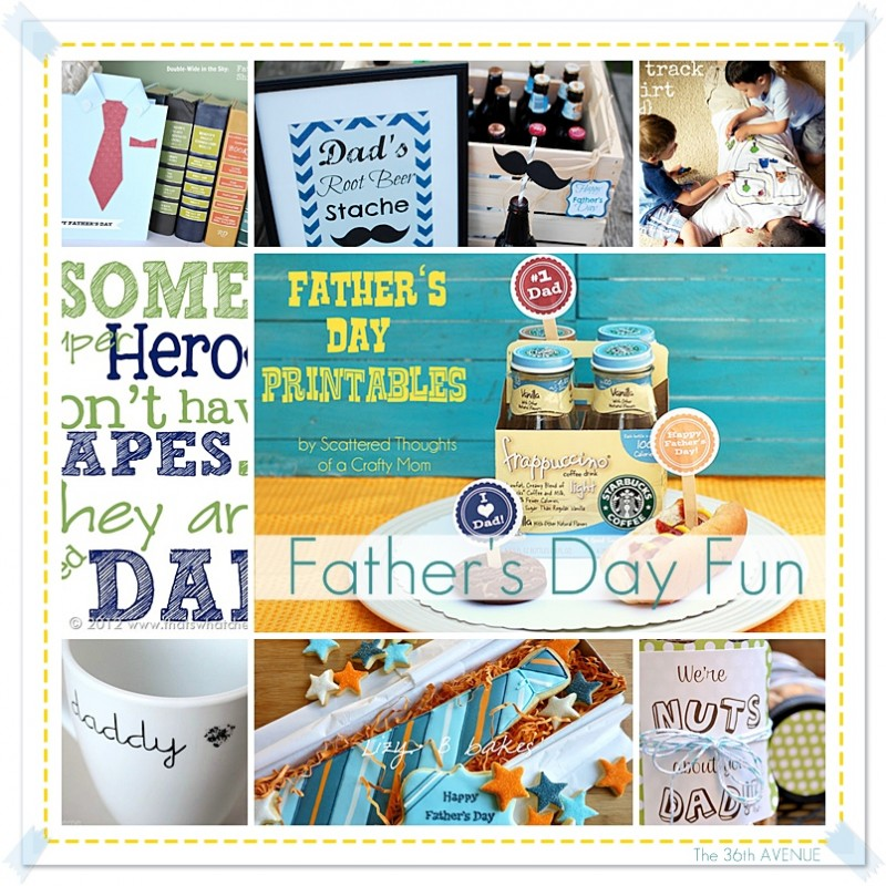 Awesome Father's Day Gift Ideas at the36thavenue.com