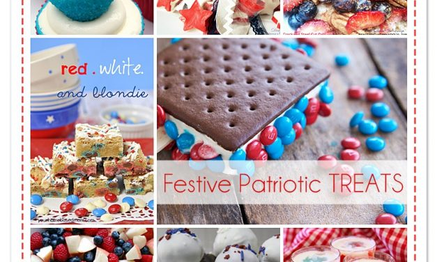 Ten 4th of July Delicious Treats