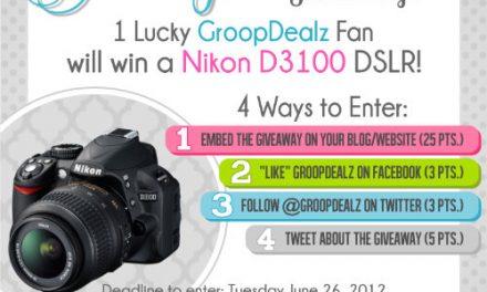 Nikon D3100 Giveaway