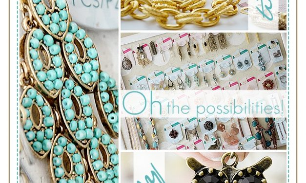 DIY Jewelry Styled by Tori Spelling