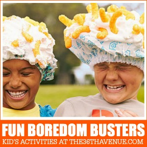 Fun Boredom Busters at the36thavenue.com