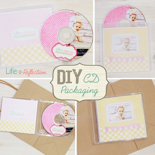 DIY CD DVD Label and Cover Photoshop Templates