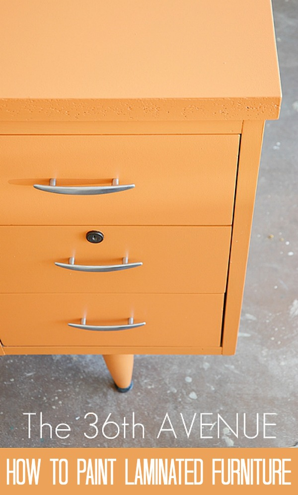 How to paint laminated furniture