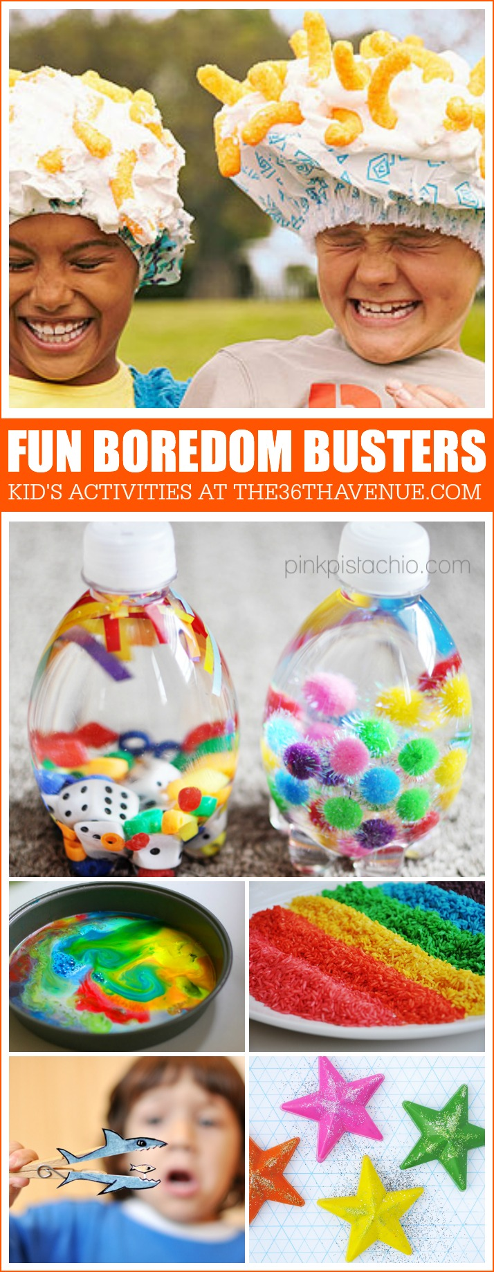 Awesome Kid's Activities at the36thavenue.com