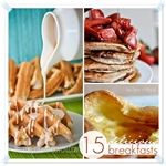 15 Delicious Breakfast Recipes at the36thavenue.com