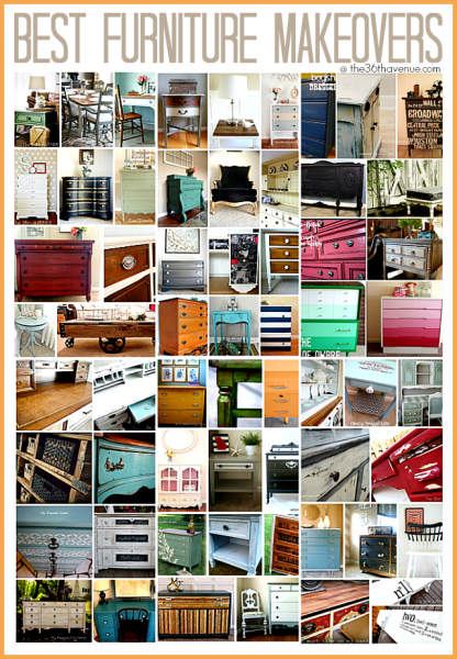 Best furniture makeovers at The 36th Avenue This is an amazing source of inspiration!