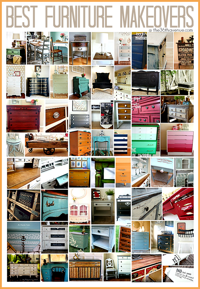 Best furniture makeovers at The 36th Avenue