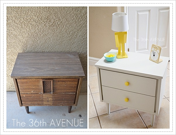 the 36th avenue diy nightstand makeover the 36th avenue