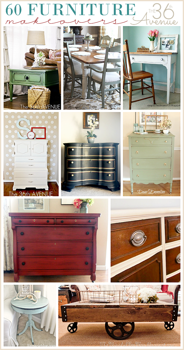 furniture makeovers at The 36th Avenue. 1 to 10