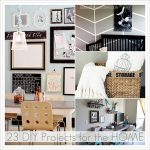 23 DIY Home Projects and Link Party 71