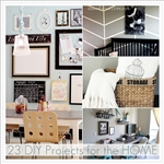 23 DIY Projects for the Home over at the36thavenue.com