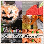 35 Fantastic DIY Fall Projects over at the36thavenue.com #Fall #Halloween