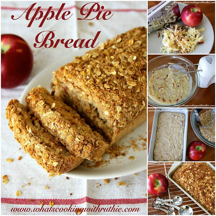 Recipes - Apple Pie Bread Recipe at the36thavenue.com All the way delicious!