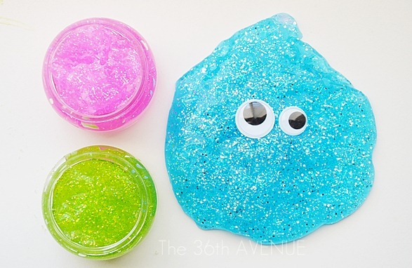 How to make Glitter Slime - The 36th AVENUE