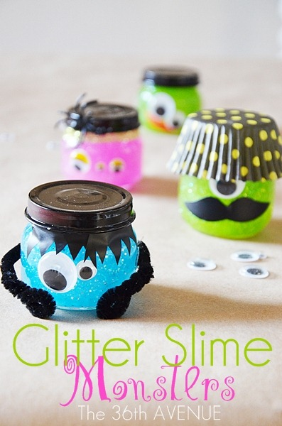 The 36th Avenue Halloween Glitter Slime Monsters The