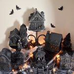 DIY Dollar Store Halloween Village