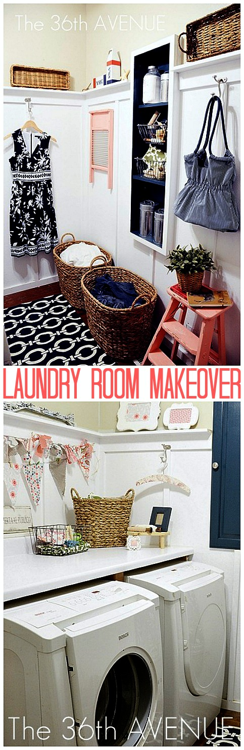 Ideas of how to give your Laundry Room a quick makeover! the36thavenue.com