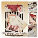 DIY Paper Gift Treat Bag