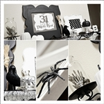 Halloween Decor and Entryway by the36thavenue.com #Halloween #crafts