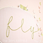 DIY Embroidered Wall Art